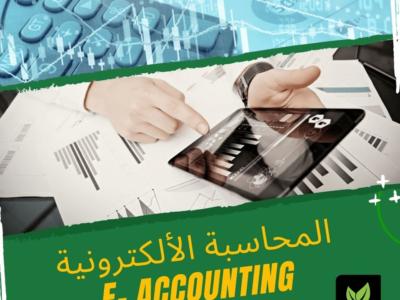 كــــورس الــــمـحــاســبـــة الإلـــكــتـــرونــــيــــة – E-Accounting